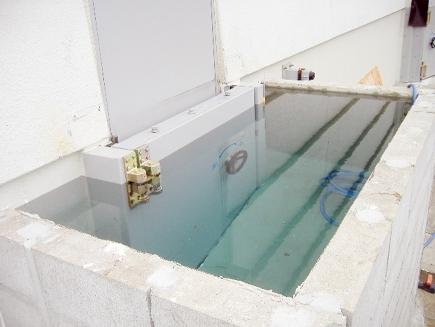 発電所向け防水扉
