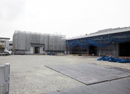 事務所棟・作業場 新築工事