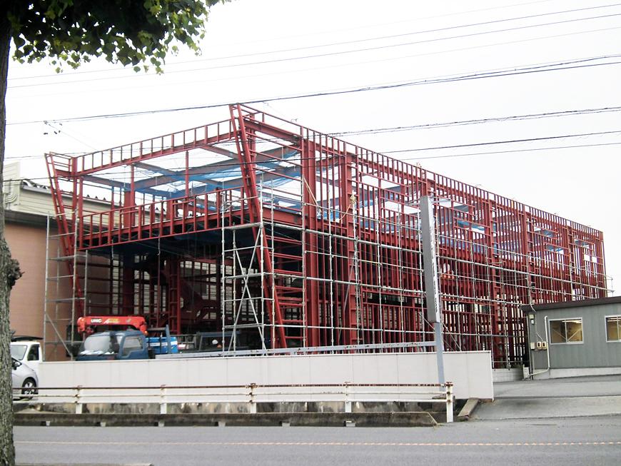 工場倉庫 新築工事