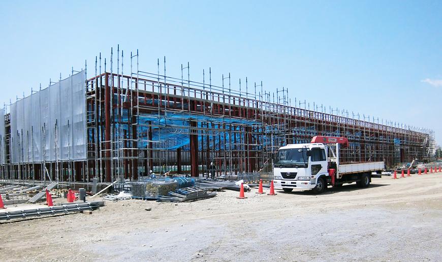 印刷工場 新築工事