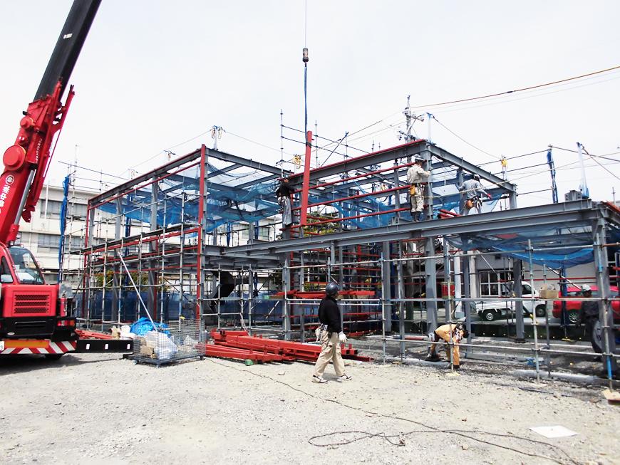 事務所棟・整備工場 新築工事