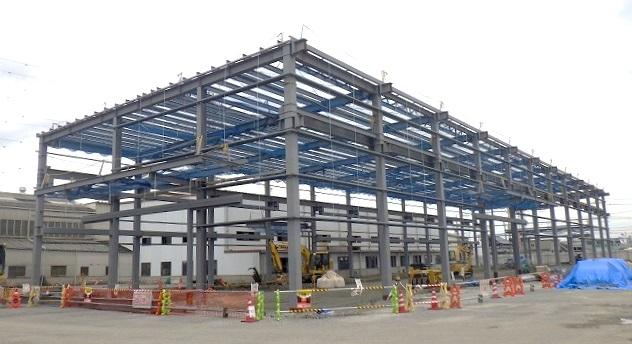 工場増築工事