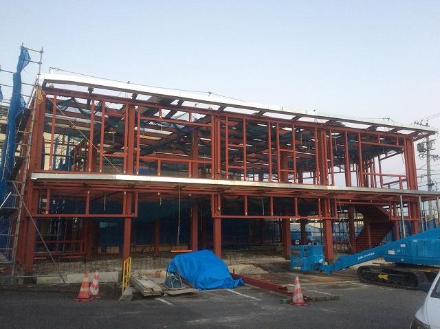 店舗・作業場 増築工事
